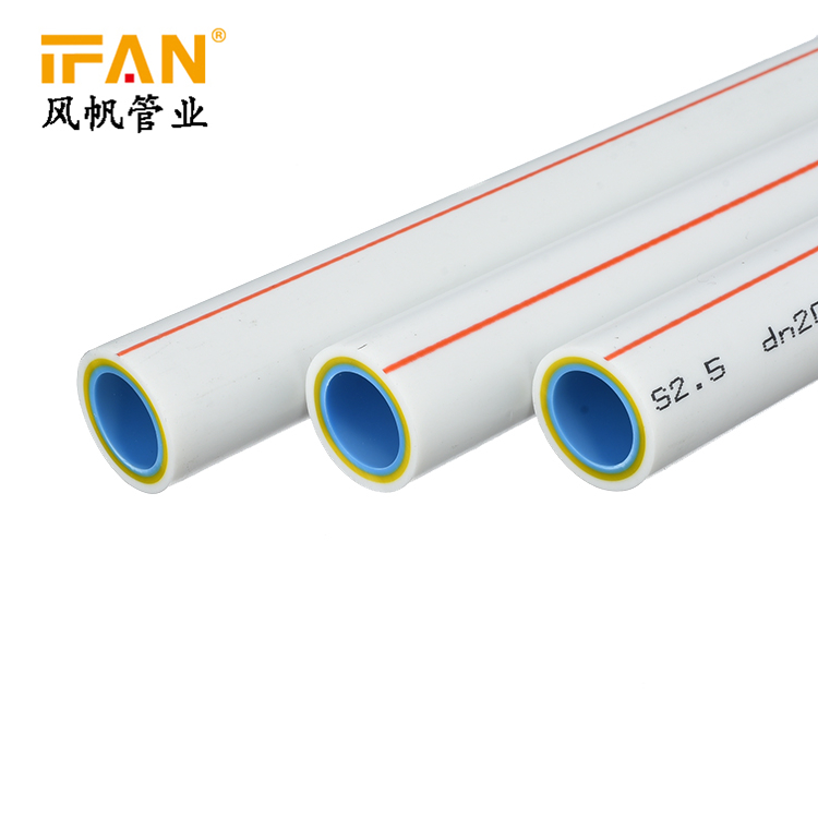 Water Supply Systems of Civil Architecture PN20 25 New Nano Antibacterial PPR Pipe with Light Weight