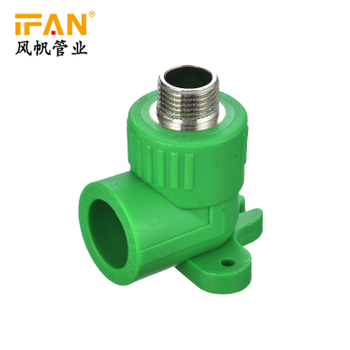 PPR Wall Plate Male Elbow PPR Pipes and Fittings Seated PPR 90 Degree Male Elbow