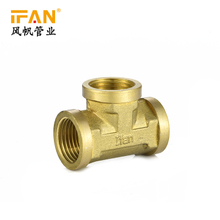 Brass Fitting Tee Bathtub Parts and Fittings three ways female thread pipe fitting copper tee
