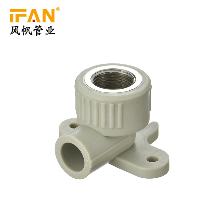 PPR Seated Elbow wholesale plumbing materials high quality female thread plastic tube pipe fitting