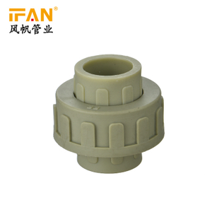 PN25 plastic union Competitive price plastic union plumbing system water plastic ppr fittings